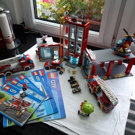 Lego City 60110 Remiza +zestaw 60107