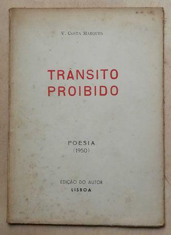trânsito proibido, v. costa marques, edição do autor