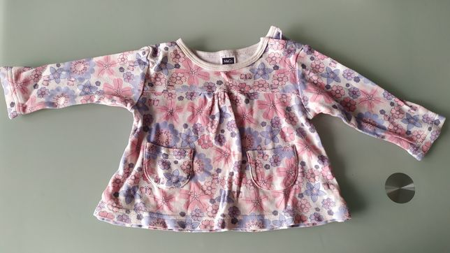 Bluzeczka kolorowa rozmiar 62