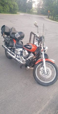 Motocykl Yamaha Dragstar