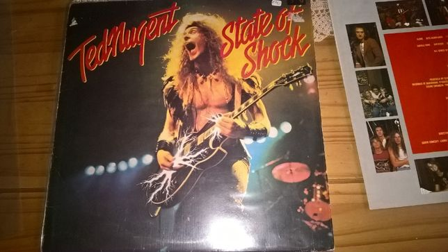 Ted Nugent - State Of Shock LP Winyl Epic 1979