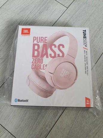 Słuchawki JBL Tune 500BT pudrowy róż