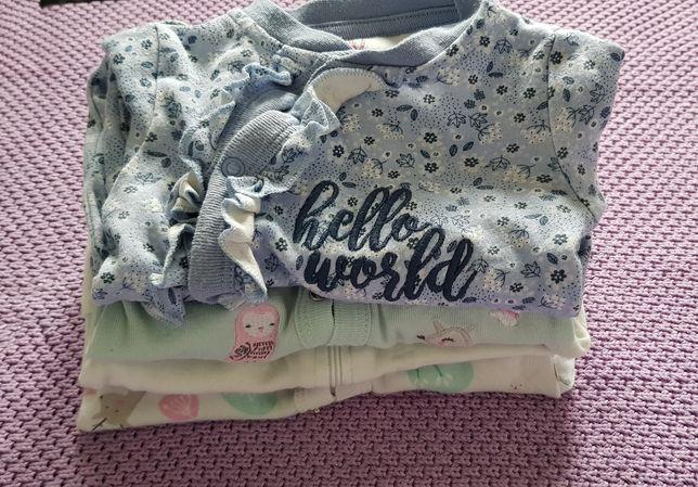 Pajacyki piżamy niemowlęce r56 cool club smyk