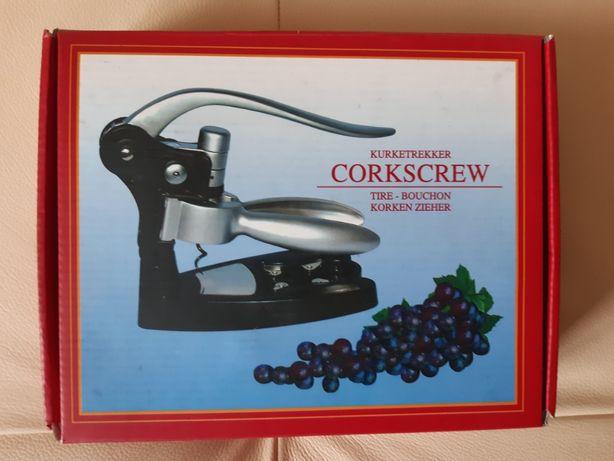 Luksusowy korkociąg do wina - automatyczny