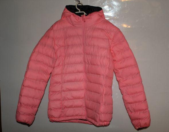 Różowa kurtka pikowana rozmiar 158/164