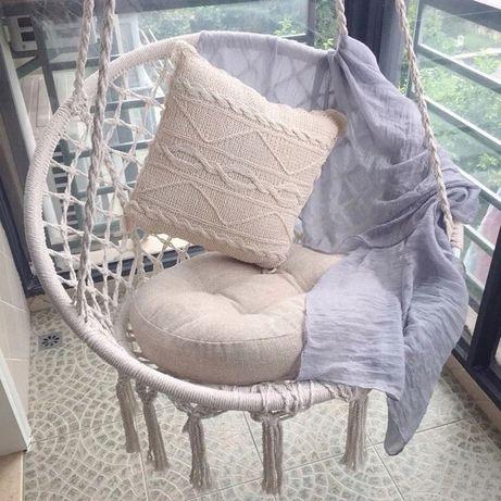 Fotel wiszący BOCIANIE GNIAZDO hamak Huśtawka