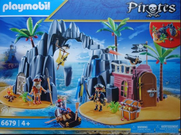 Playmobil 6679 piracka wyspa skarbów klocki NOWE pirates DUŻE