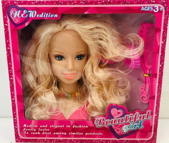 Głowa do stylizacji czesania dla dziewczynki 3690