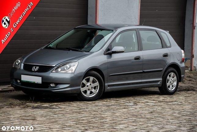 Honda Civic 1,4i/90KM*Alu*Klima*Czujniki Parkowania*3 MSC Gwarancja*Opłacona*