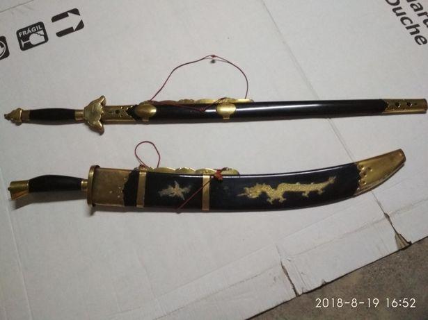 Espadas de decoração