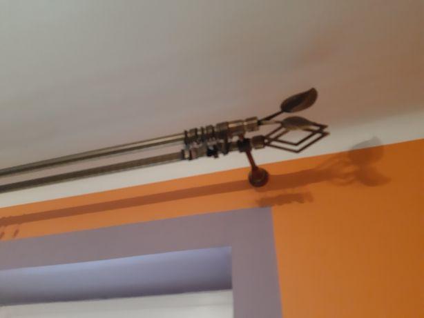 Karnisz metalowy podwójny 300cm