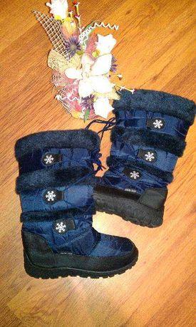 Зимові чоботи дутіки snow fun 38р