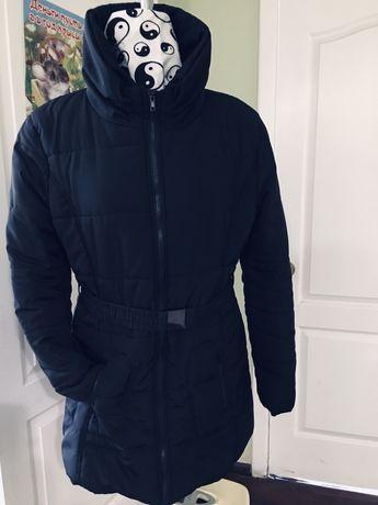 Зимнее пальто стеганое