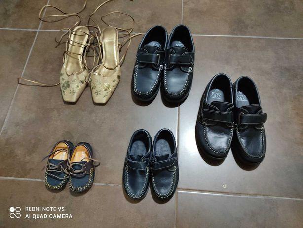 Calçado menino novo por apenas 5€ cada para TAM 37, 35, 25 e 18