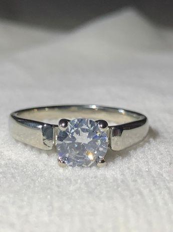 Позолоченое кольцо , кольцо из белого золота позолота , новое кольцо