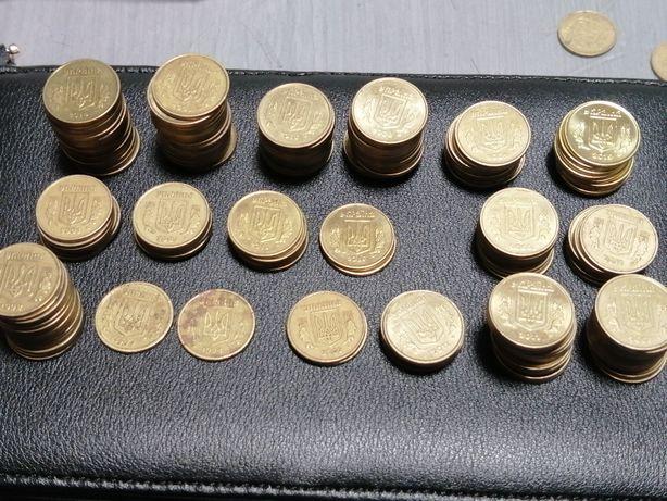 Монеты Украины разных годов номиналов