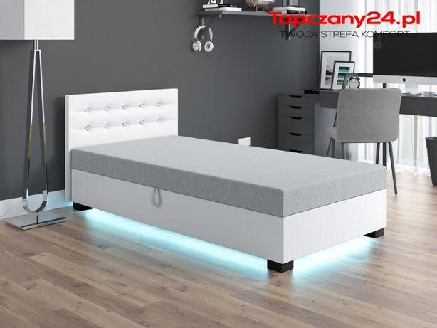 Łóżko do sypialni Tapczan jednoosobowy młodzieżowy 80/90/100/110 PROMO