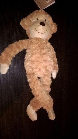 Pluszowa małpka M&S Kids brązowa 40 cm