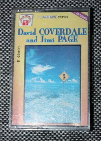 Kaseta magnetofonowa David Coverdale and Jimmy Page