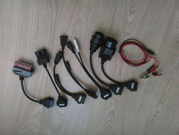Conjunto 8 cabos maquina diagnostico OBD2