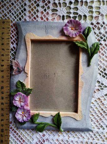 Керамическая рамка для фото