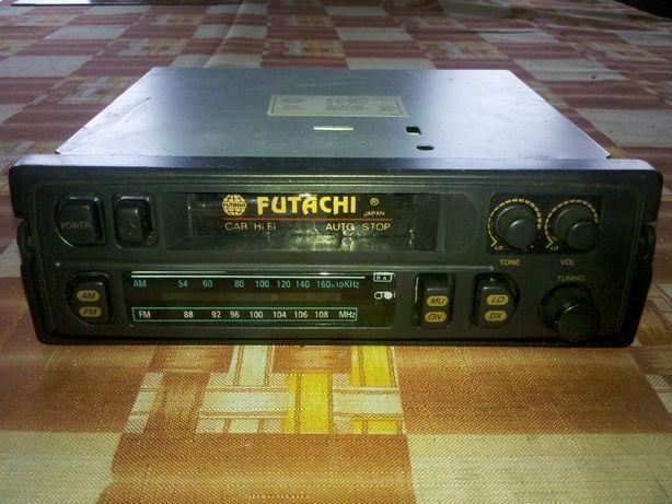 Radiomagnetofon samochodowy kasetowy firmy FUTACHI JAPAN