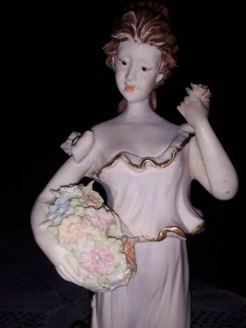 Peça de porcelana, primavera, decoração, antiguidades