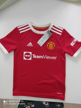 Manchester United 21/22 camisola original criança 9/10 anos