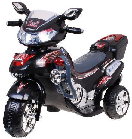 Duży motor skuter na akumulator Strong 2 czarny