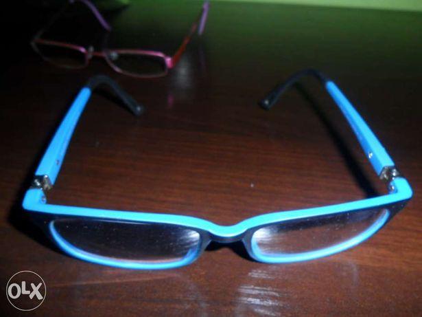 Okulary, oprawki prawie nowe! Niebieskie sprzedane.