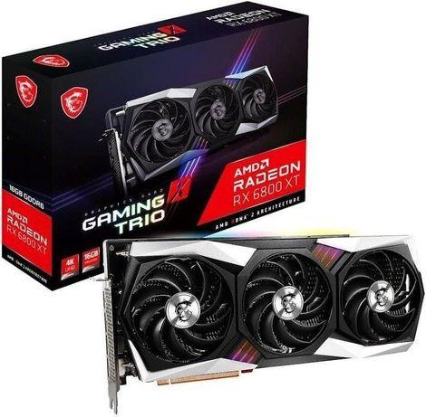 MSI Radeon RX 6800 XT Gaming X TRIO(5700XT, 6700 XT, 3070, 3060, 3080)