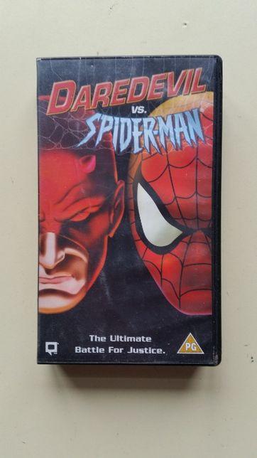 Kaseta VHS Daredevil vs Spider-Man