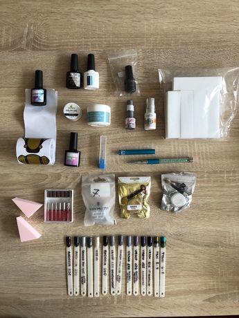 Manicure lakiery hybrydowe Chiodo Vasco Andreia baza reinforce top