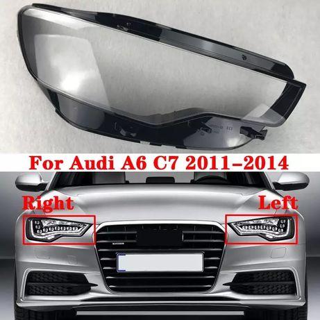 Стекла на фары стекла на Audi A6 C7