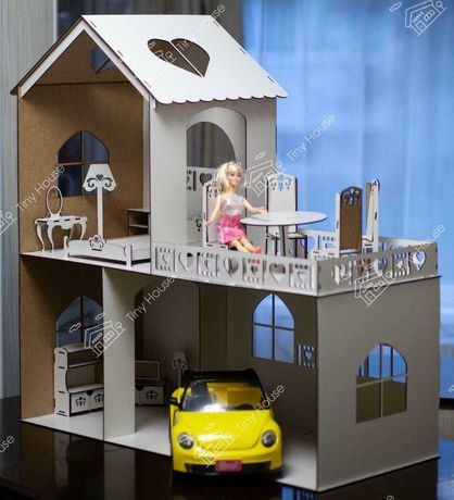 "Ляльковий будинок DH102 ""TinyHouse"" Кукольный домик барби"