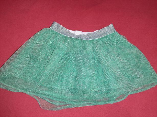Spódnica tiulowa crafted 6-7 lat zielona