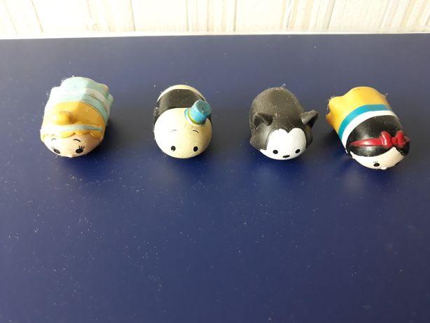 Tsum tsum, gumowe figurki, 4 szt