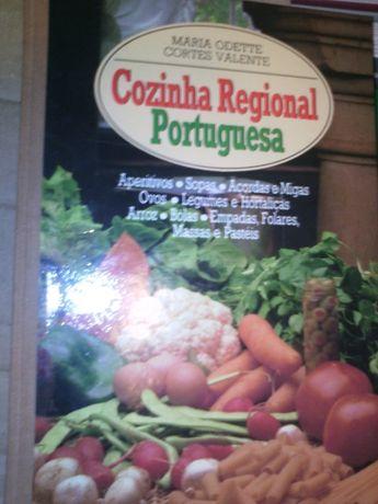 Coleção Cozinha regional portuguesa- 4 volumes