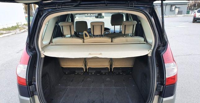 Шторка, полка, ролета багажника Renault Grand Scenic 2, Гранд Сценік 2