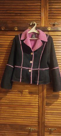 Куртка женская, дублёнка на весну р.М 44-46