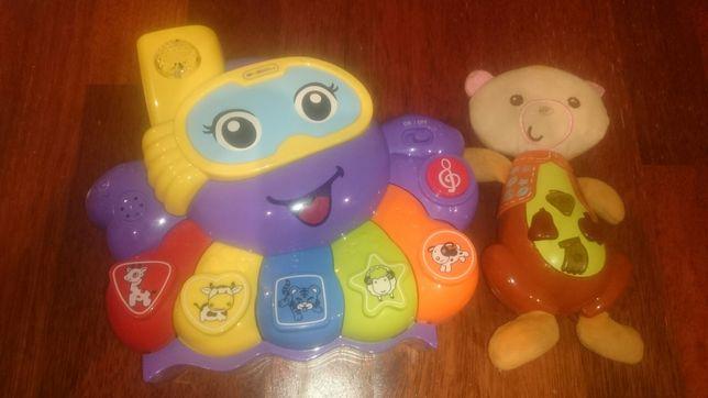 Grające zabawki ośmiernica miś