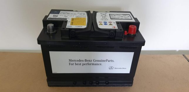Akumulator Mercedes 70Ah 720A agm, Nowy, Oryginalny, system start-stop