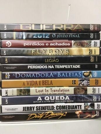 12 DVD's ORIGINAIS - Ainda embalados