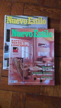 Revistas Casa Claudia e Nuevo Estilo