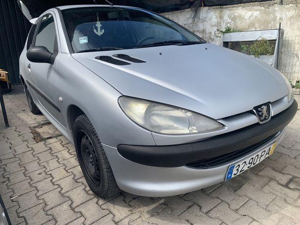 Peugeot 206 1.9D ano2000
