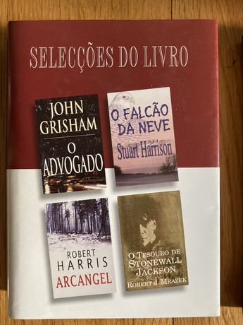 Vários livros novos