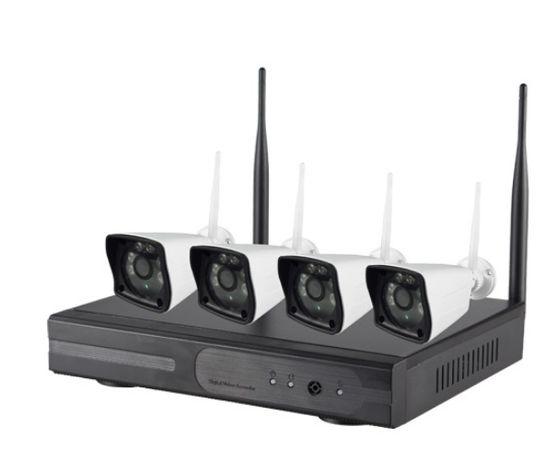 Pack Vigilância IP Wi-Fi (Grav NVR 4 Canais + 4 Camaras 1080p IR)