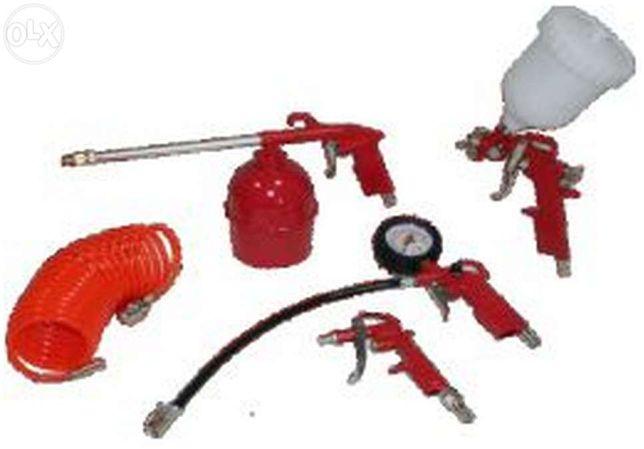 Kit / conjunto de ar comprimido p/ compressores c/ pistola pintura cop