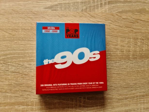 Box kolekcjonerski ( 10 x cd ) :The 90s . Nowy w folii !
