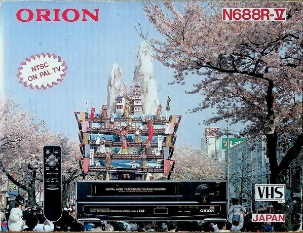 Odtwarzacz VHS Orion.